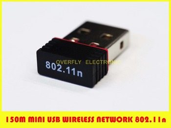 Mini 150M Wifi Wireless USB Adapter IEEE 802.11n LAN Network Card for Computer & Networking
