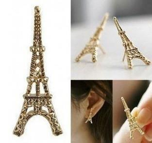 Fashion Eiffel Tower Earring SUPER DEALS NECKLACE SUPER DEALS EARRINGS free shipping
