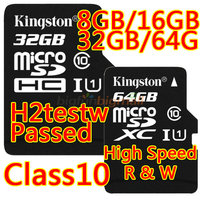 New 2015 Kingston Flash Memory Card 32 Gb Micro Sd Card 32gb Class 10 Tf Card Microsd 64gb 128GB Cards With Retail Packing