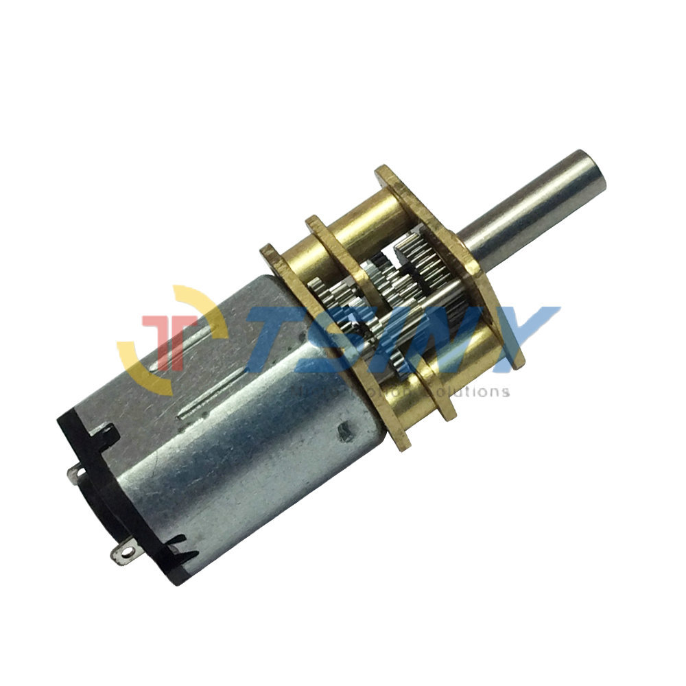 Small Gear Motor Dc12v 150rpm Min Mini Dc Geared Motor