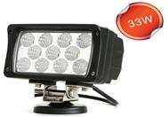 Free Shipping 33W IP67 2420LM 6000K 160*94*73mm Flood or Spot beam LED Work Light for Truck SUV ATV<br><br>Aliexpress