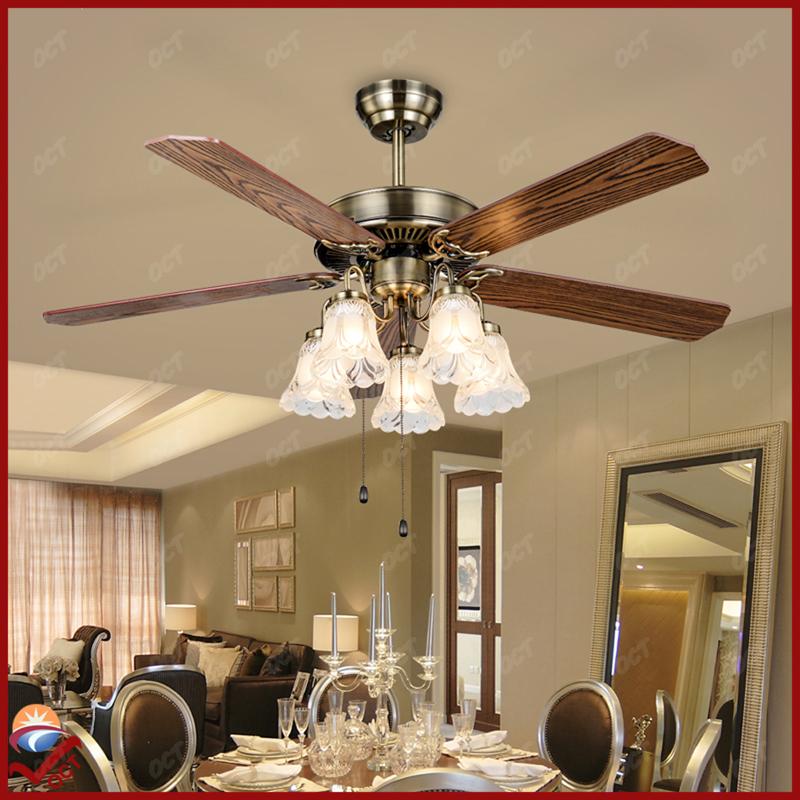 Compra ventiladores de techo de bronce online al por mayor de china mayoristas de ventiladores - Ventiladores de techo antiguos ...