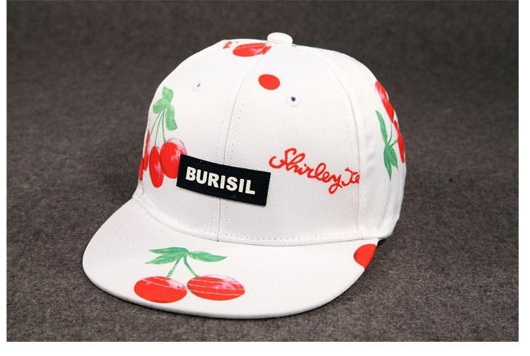 New Fruit pattern Adult & Kids Fashion Caps Children Boys Girls Baseball Caps Adjustable Hip Hop Snapback Sun Caps Summer Hat