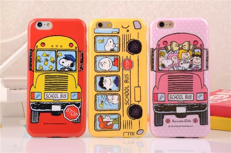 2015 Fashion 3D Cute Cartoon Animals Snoopys CaseSoft TPU Phone Covers for iphone 6 4.7INCH free shipping(China (Mainland))