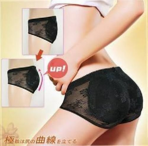 Free Shipping  seamless Bottoms Up underwear(bottom pad panty,sexy lingerie,buttock up panty,Body Shaping Underwear/ UD-011