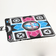 HD Non-Slip Dancing Step Dance Mat Pad Pads Dancer Blanket Fitness Equipment Revolution Foot Print Mat to PC with USB(China (Mainland))