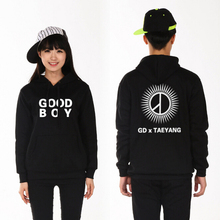 Buy Autumn winter kpop bigbang gd taeyang boy black white pullover hoodie vips supportive o neck sweatshirt plus size for $22.78 in AliExpress store