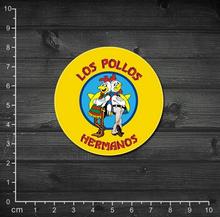 Simples dramatiques américaines Breaking Bad Los Pollos restaurant de poulet portable chariot autocollants autocollants 1 – 34