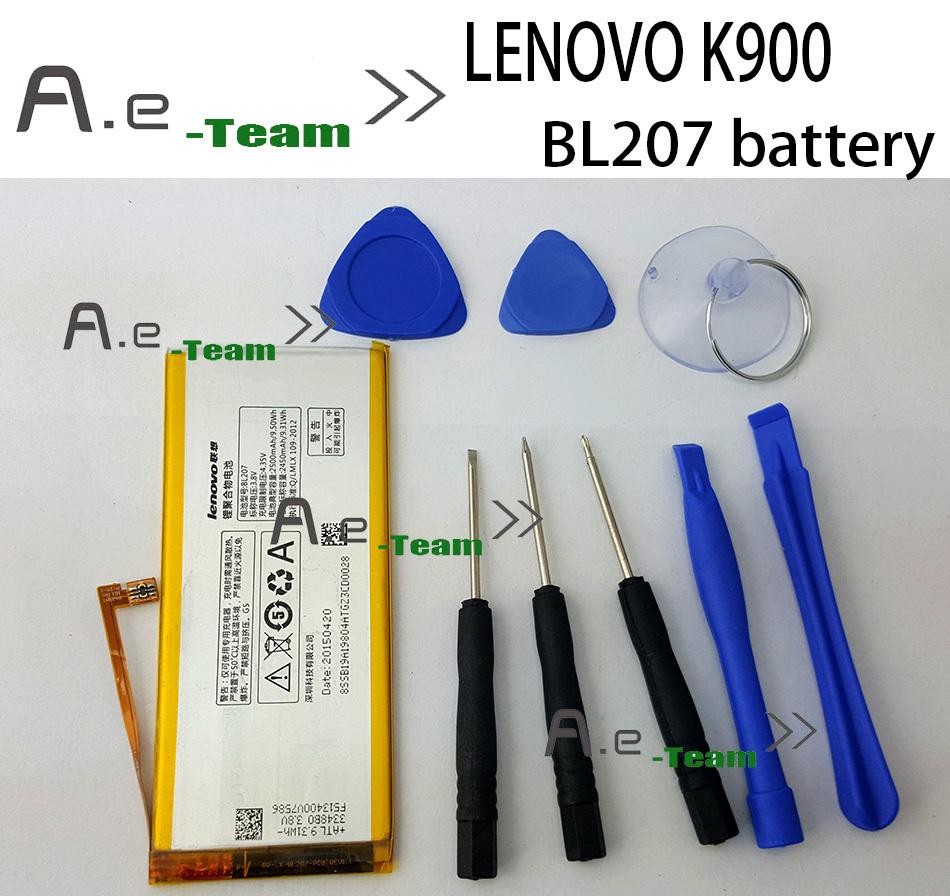 LENOVO K900 Battery 100 Original BL207 2500mAh Battery for LENOVO K900 Smart Cell Phone In Stock