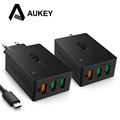 AUKEY USB Charger Quick Charge 3 0 3 Port USB Fast Smart Wall Charger for LG