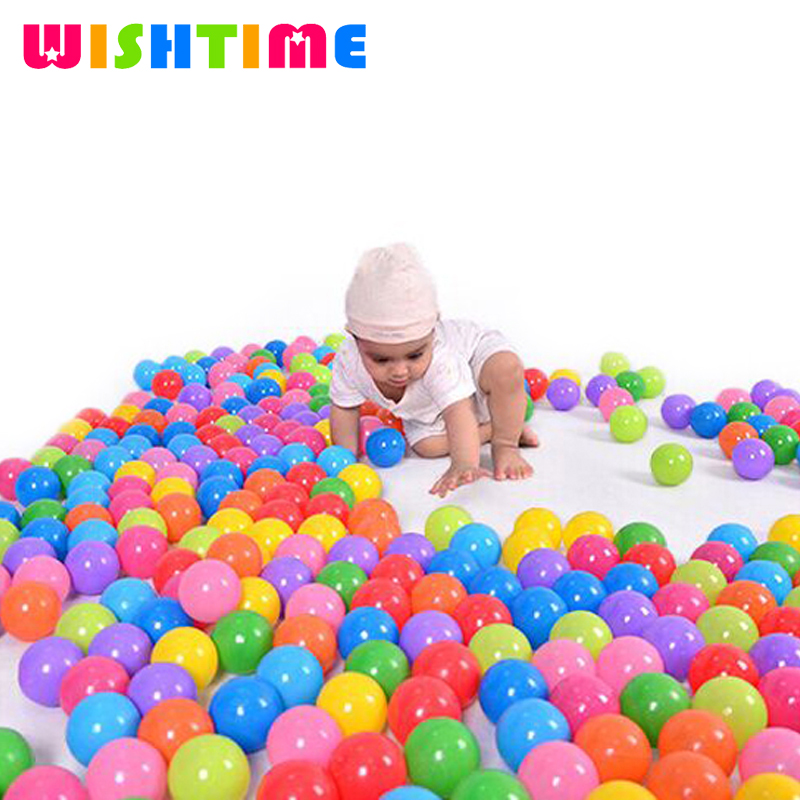 100pcs/lot Eco-Friendly Colorful Soft Plastic Stress Air Balls Funny Ocean Balls Toys For Play Pit Baby Pool Outdoor Fun Sports(China (Mainland))