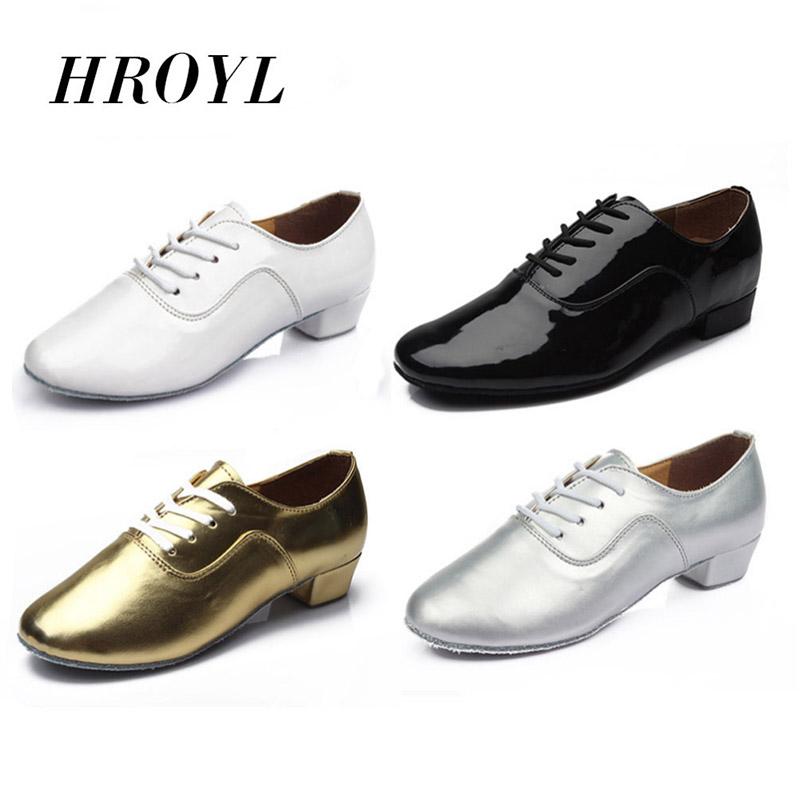 new arrival hot sale wholesale Brand New Modern Men's Ballroom Latin Tango Dance Shoes man Salsa heeled WZSP LM