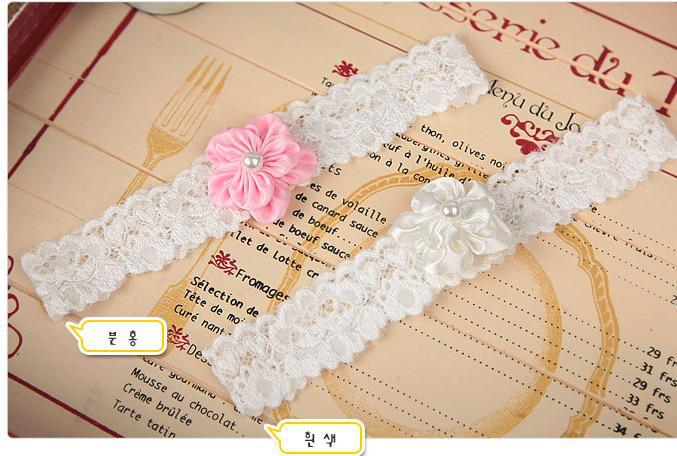 hot sale wholesale 10pcs/lot new crochet girl pearl fabric vintage headbands children headdress free shipping