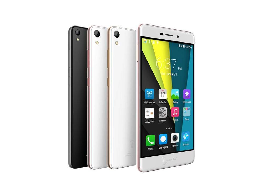 New Arrival Brand Kenxinda R6 Smart Phone 4G Network Utra Slim mobilephone 5.2 Inch Rose Golden Cell Phone MTK6753 2G+16G(China (Mainland))