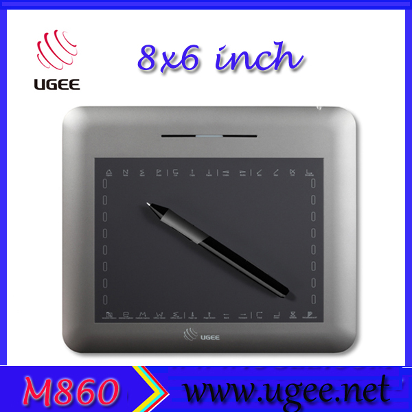 Ugee M860 8x6 inches Professional Digital Graphic Drawing Tablet