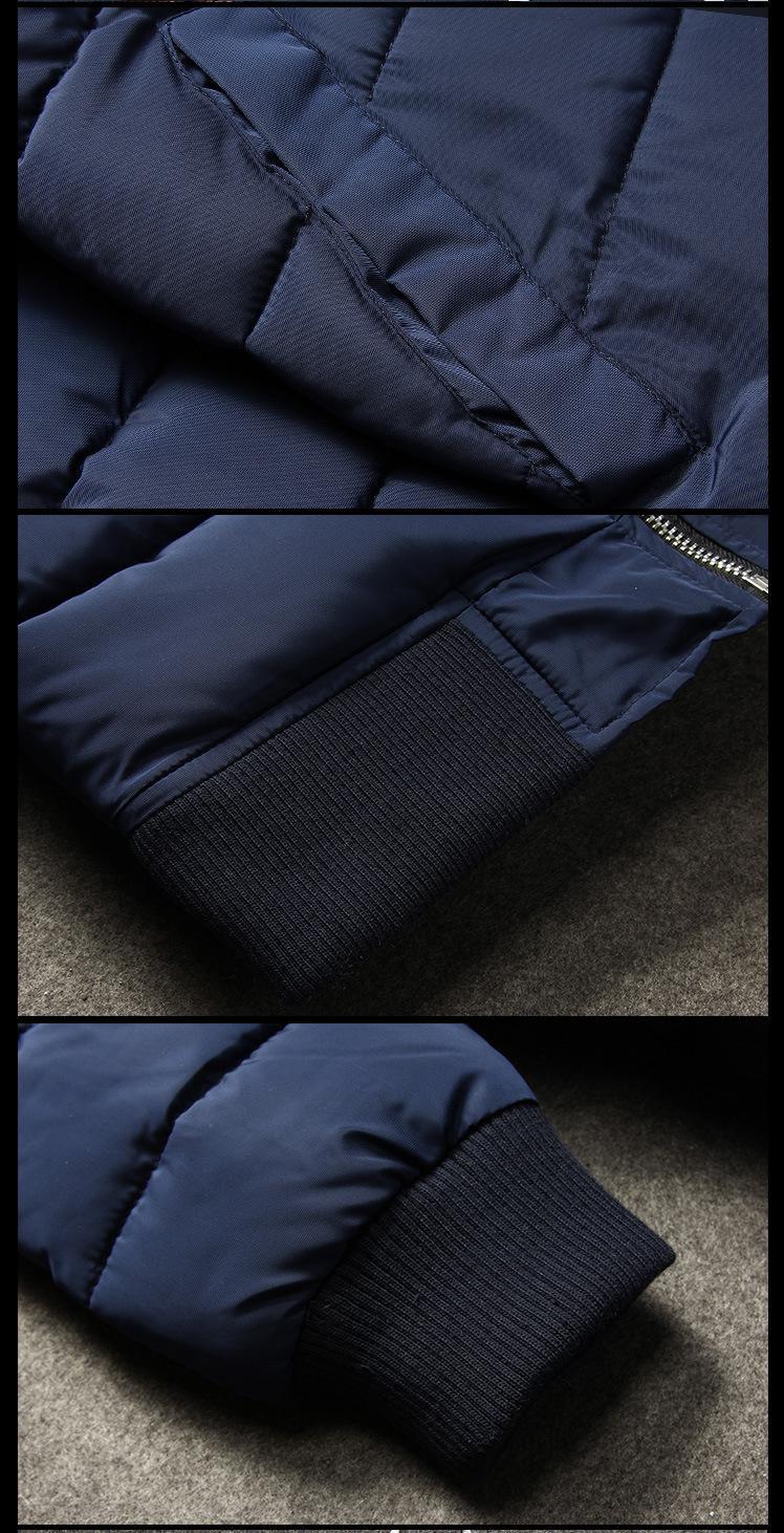 Скидки на Мужские Пальто Новых Людей Прибытия Вскользь Тонкой Стильный Подходят Твердые Толстые Куртки Мужчины Мода Тонкий Зимняя Куртка Мужская Куртка Мужчины