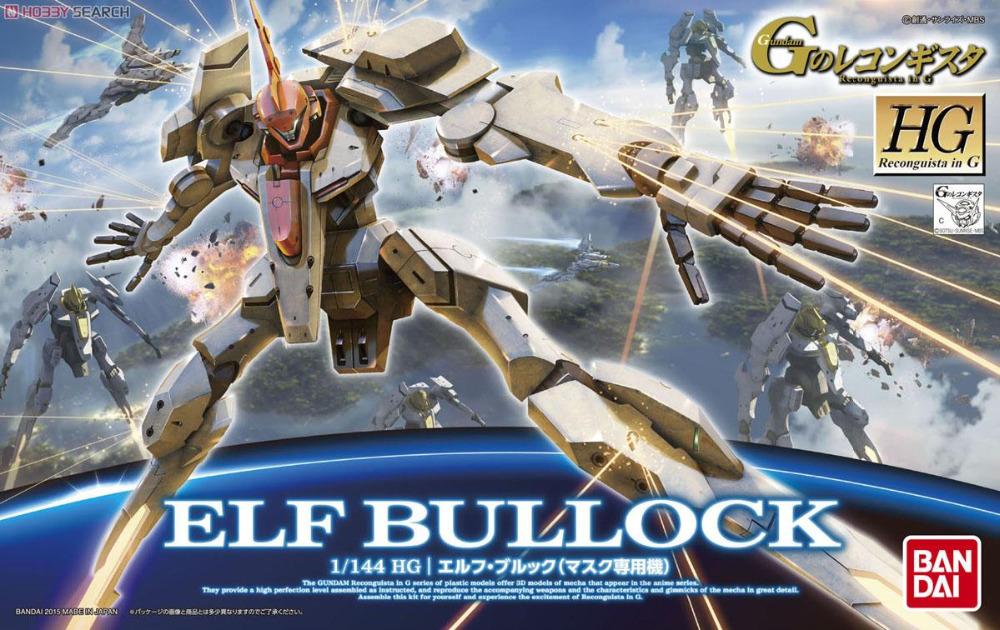 BANDAI GUNDAM / HG G 08 1/144 ELF BULLOCK GUNDAM Reconguista in G / gundam model Robot gunpla<br><br>Aliexpress