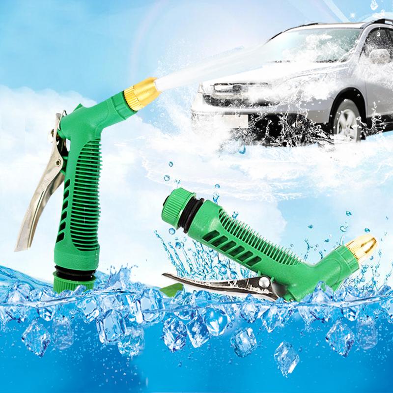 Water Gun Sprayer Brass Hose Nozzle High Pressure Watering Equipment Garden Car Washing Accessories(China (Mainland))