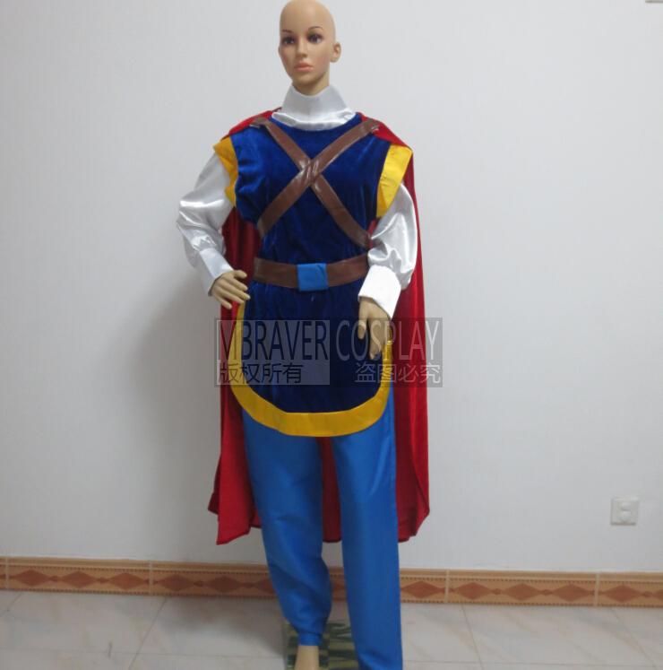 2016 snow white prince costume prince costume