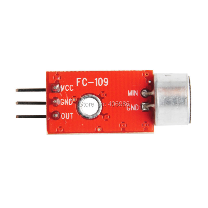 10pcs/lot MAX9812  Microphone Amplifier Sound MIC Voice Module for Arduino 3.3V/3.5V