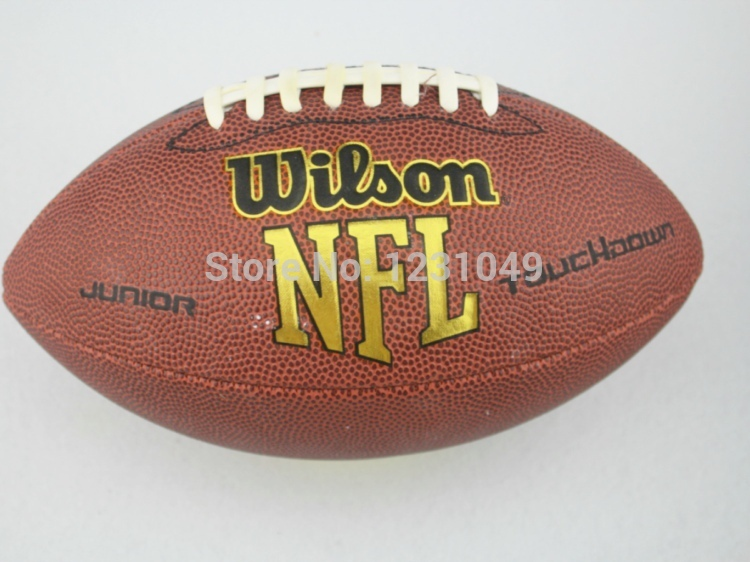 Brand official American football, rugby ball, futbol americano, Children, size 6,for traing and match, free shipping(China (Mainland))