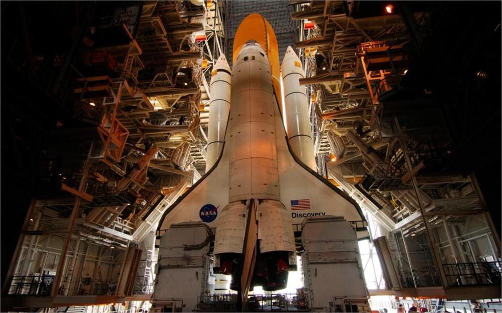 NASA Space Shuttle 4 Sizes Silk Fabric Canvas Poster Print(China (Mainland))
