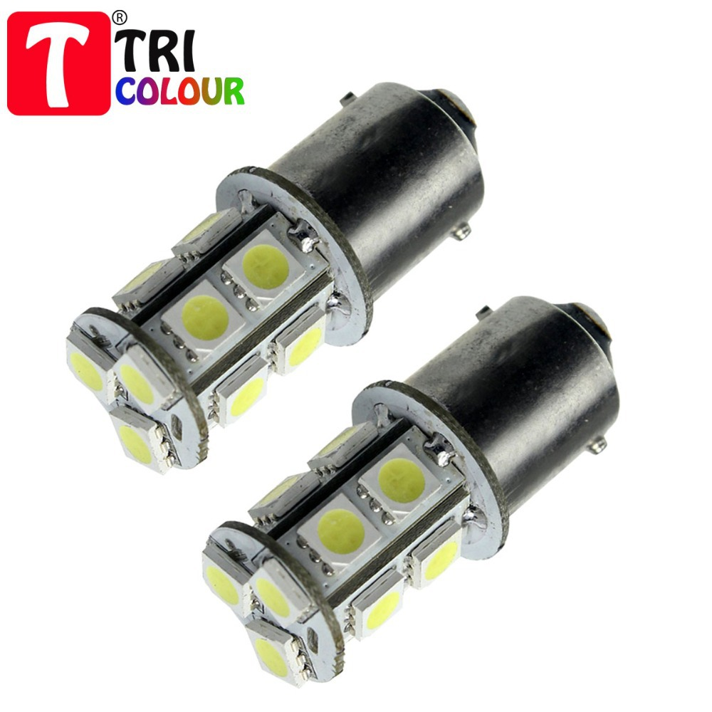 4x 1156 382 BA15S p21w 1157 BAY15D p21/5w bay15d PY21W led light bulb 13 smd 5050 Brake Tail Turn Signal Light Bulb Lamp 12V red(China (Mainland))