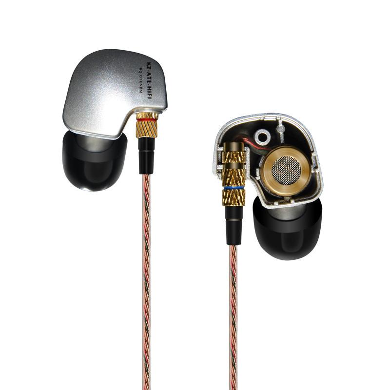 Kz ate earphones with mic - earphones microphone for phone