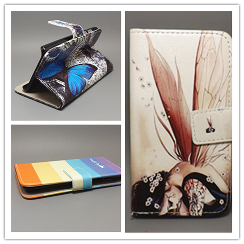 New Butterfly Flower Flag Designer Wallet Flip Stand Book cover Case for Sony Ericsson Xperia X10 X10i free shpping(China (Mainland))