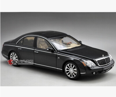 AUTOart Maybach 57 S 57S 1:18 AA car model alloy metal diecast Ultra-luxury car Benz Classic cars Limited Collector gift toy boy(China (Mainland))