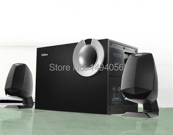 Computer audio media active 2.1 speaker stereo subwoofer sound good quality Grade A