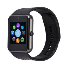 GT08 Smart Watch Reloj Inteligent Bluetooth Sim Card Sync Notifier Smartwatch Montre Connecter For Apple IOS Android Smartphone