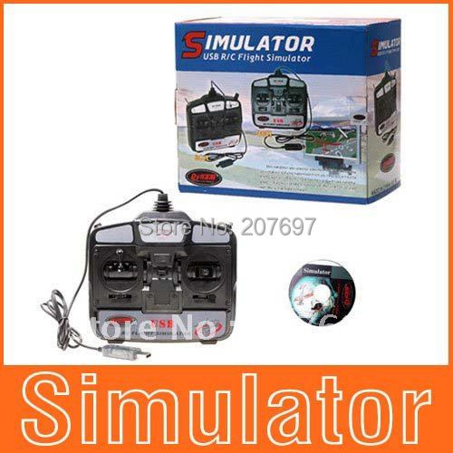 6CH USB 3D RC Helicopter Flight Simulator Free Shipping Wholesale+Drop Shopping(China (Mainland))