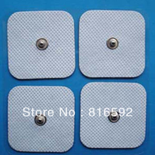 """2"""" square tens electrode pad for muscle stimulation muscle electrode pads for physiotherapy machine(China (Mainland))"""