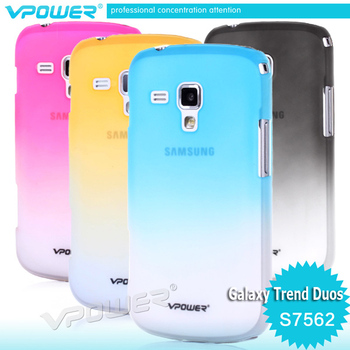 For samsung s7562 galaxy s duos, Vpower Hard Case Cover + Screen Protector s7562 case  Free shipping