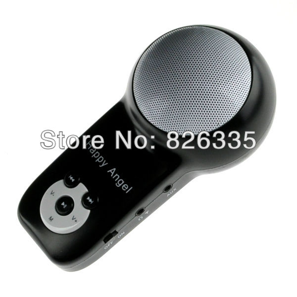 Portable Rechargeable TF Card Music Speaker Player Sound Amplifier FM Radio(China (Mainland))