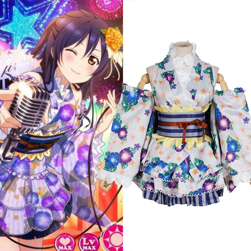 love live cosplay anime kimono costumes for women halloween costumes anime cosplay clothing new year costumes anime clothing