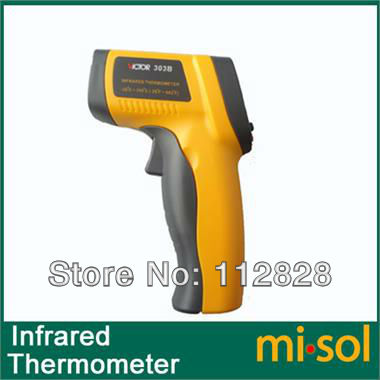Digital Infrared Thermometer 12:1 Pyrometer Laser 350 Cel. Degrees<br><br>Aliexpress