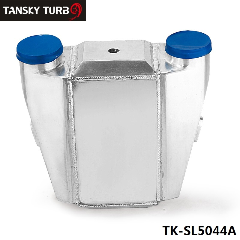 TANSKY- UNIVERSAL ALUMINUM 13.3 x12X4.5 BAR &amp; PLATE FRONT MOUNT WATER-TO-AIR INTERCOOLER Inlet/Outlet: 3 TK-SL5044A<br><br>Aliexpress