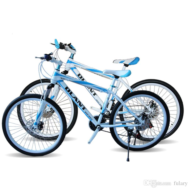 DLANT Mountain Bike For Men 26 Inch 21-Speed Double Damping Double Disc Brake 40 Spokes Speed Bicycle Two Kinds Of Styles(China (Mainland))