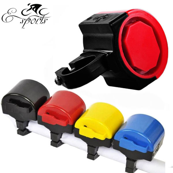 Free shipping! New Bike Accessories Electric Horn Colorful Outdoor Cycling Ring Bicycle Electricity Loudly Alarm Bell(China (Mainland))