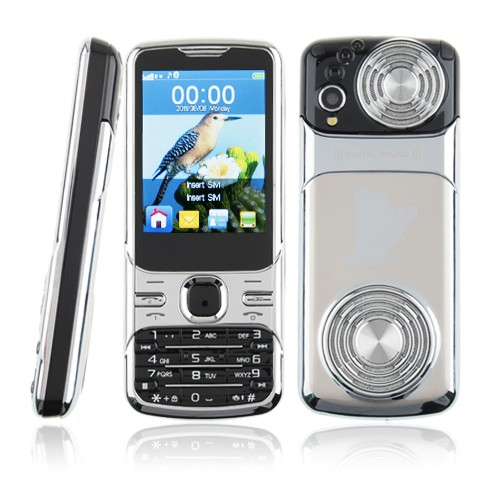 Russian Q9 TV Quad Band Dual Cards Cameras Analog TV 2.4 inch super big speaker phone(Can choose RussianKeyboard)(China (Mainland))