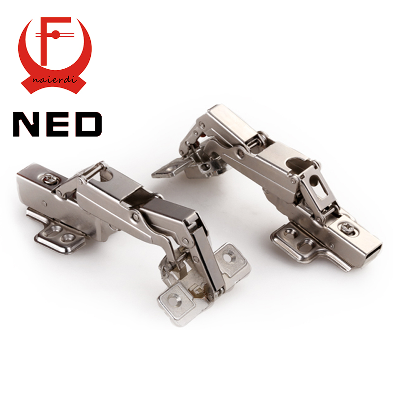 NED CA003 Full Size 165-175deg Cold rolled steel Fixed Hinge Rustless Iron Soft Close Cabinet Cupboard Furniture Door Hinges(China (Mainland))