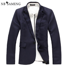 Buy 2017 New Arrival Spring Autumn Fashion Blazer Men Suit Slim Fit Jacket Suits Mens Blazers Coat Terno Masculino Plue Size for $21.27 in AliExpress store