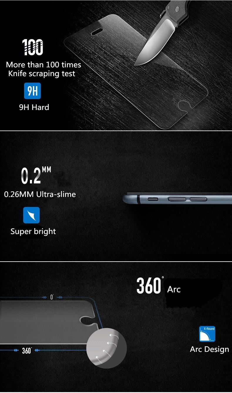 "9 h premium vidro temperado protetor de tela lcd para apple iphone 6 6 s 4.7 ""/6 Plus 5.5 polegada/5 5S 5c se/4 4S Filme Protetor Película Protetora"