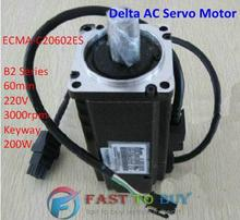 Buy Delta AC Servo Motor B2 Series ECMA-C20602ES 60mm 220V 3000rpm Keyway 200W New for $217.00 in AliExpress store