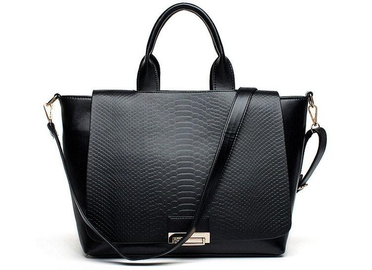2015 new women's handbag Red patent leather crocodile pattern shoulder bag Noble ladies fashion business party handbas886(China (Mainland))