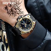 2019 nouveau SANDA 739 sport hommes montres haut marque de luxe militaire Quartz montre hommes étanche S choc horloge relogio masculino(China)