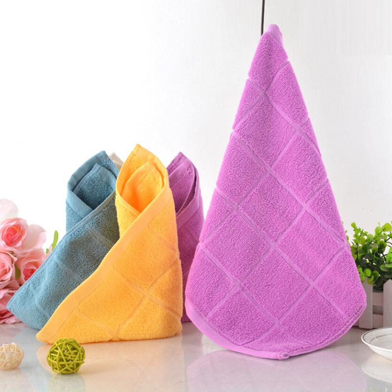 1pcs Colorful Sweet Baby Bath Towel 34x34cm Washcloth Newborn Cotton Kids Handkerchief Soft font b Feeding