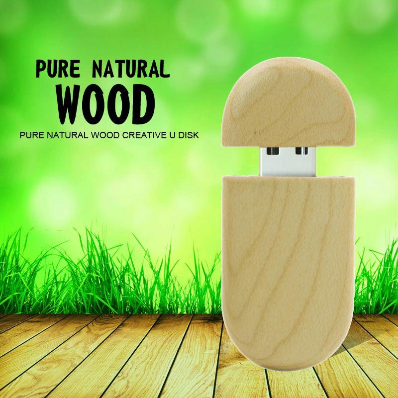 Pass H2testw 100% real capacity Wooden personality creative gift wood USB flash drive u disk USB2.0 flash drive 8GB 16GB 32GB(China (Mainland))